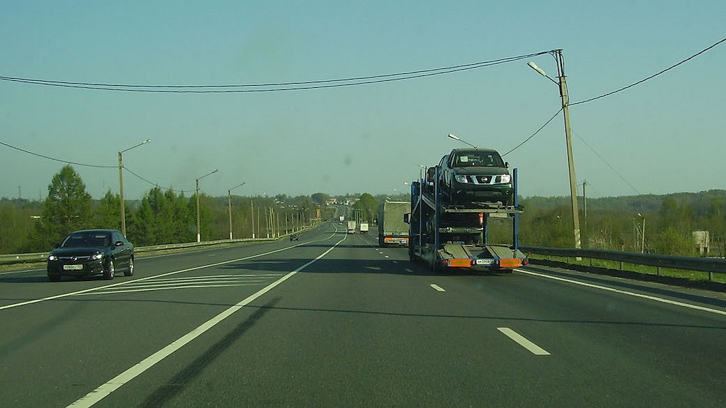 M10 zwischen Moskau und Sankt Petersburg