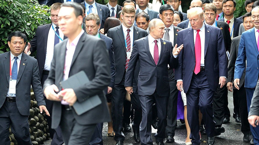 Trump, Putin, APEC, Konferenz, 2017