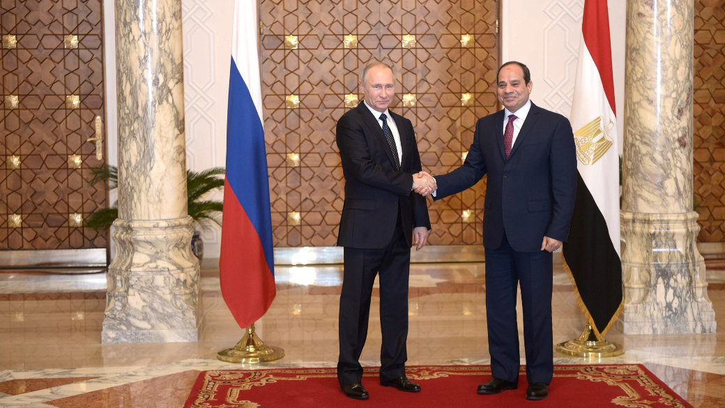 Präsident, Putin, El Sissi