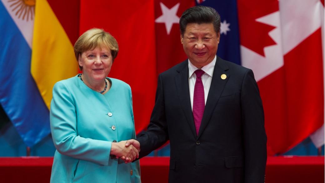 Angela Merkel und Xi Jinping beim G20-Gipfel in China.