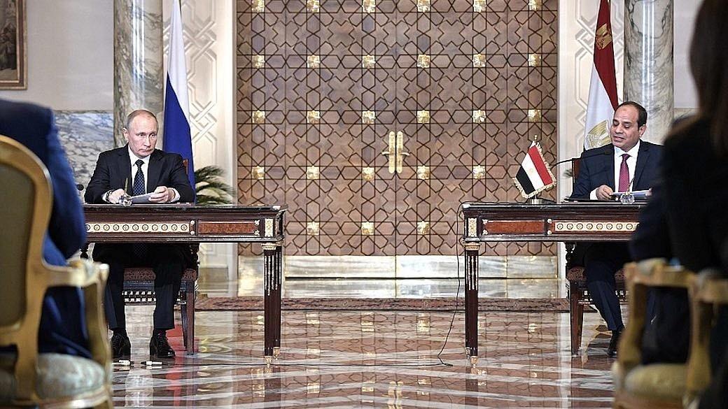 Wladimir Putin und Abd al-Fattah as-Sisi