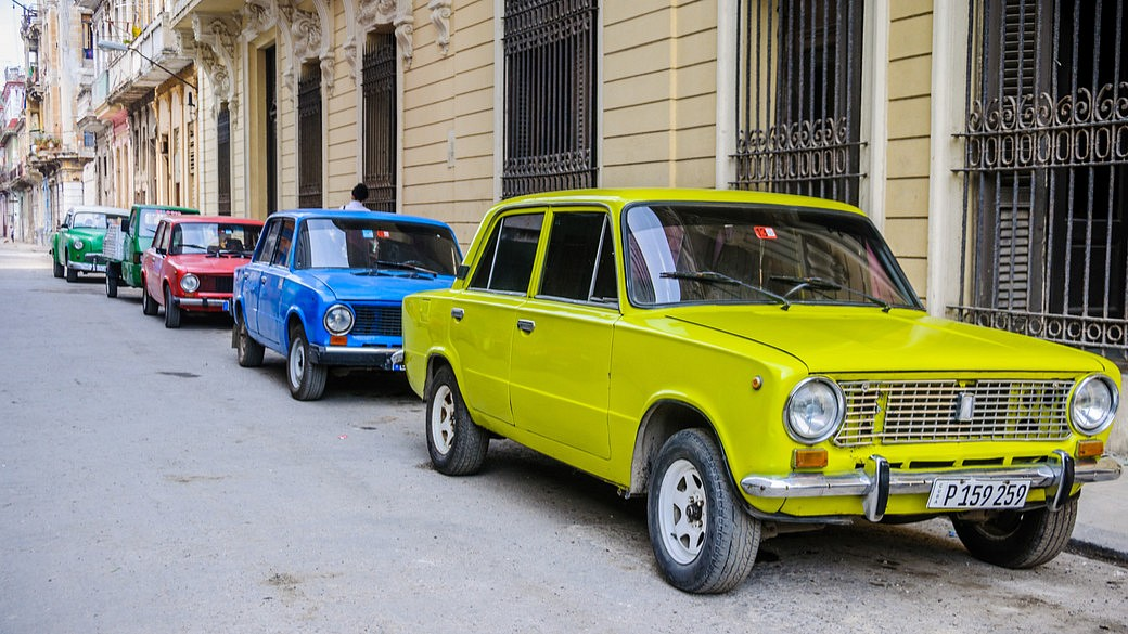 Lada in Kuba