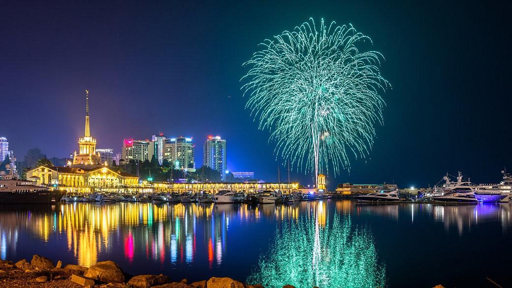 Sotchi, Feuerwerk