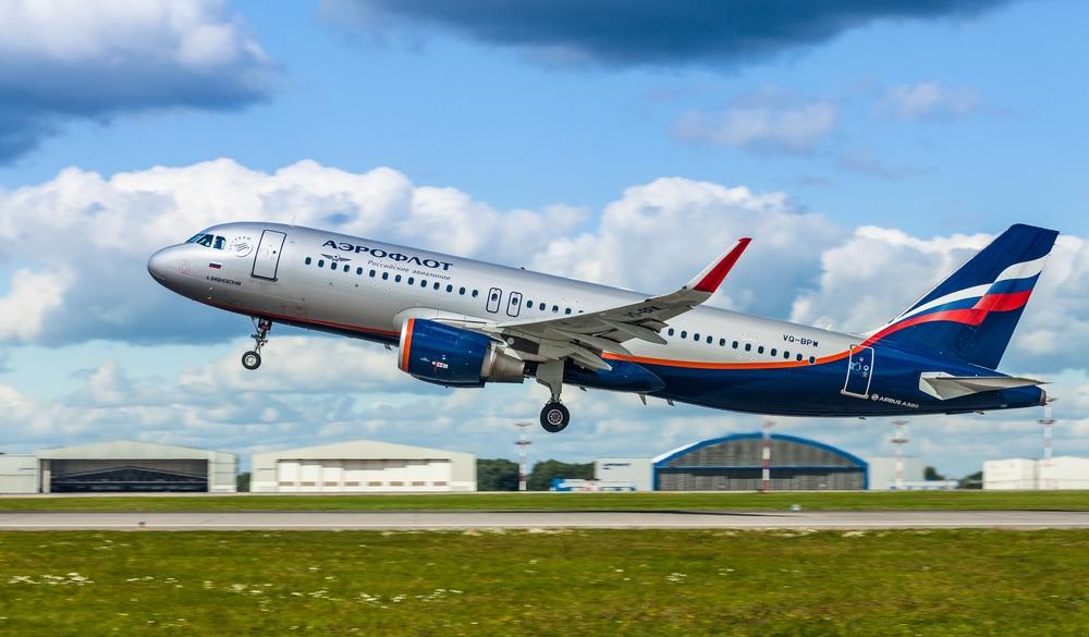Aeroflot-Flugzeug