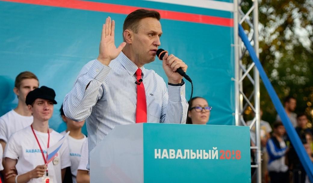 Alexej Nawalnys Kampagne zur Präsidentschaftswahl im März 2018