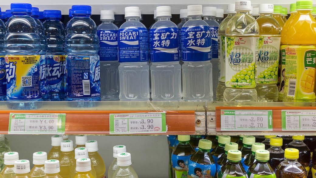 Mineralwasser in China