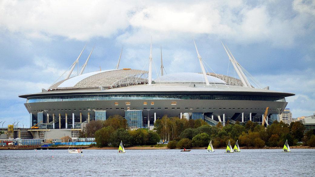 Stadion, Sankt Petersburg 2018