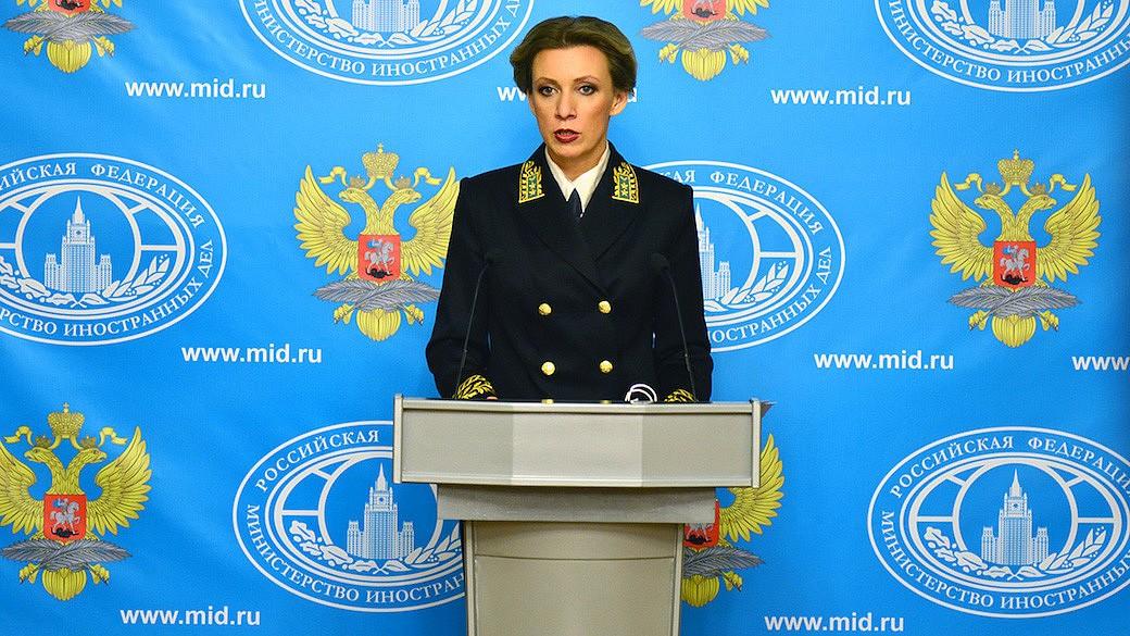 Marija Sacharowa, Sprecherin des russischen Außenministeriums