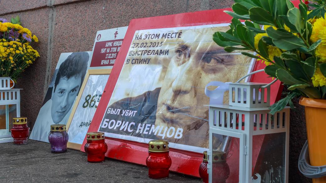 Gedenkstätte für Boris Nemzow