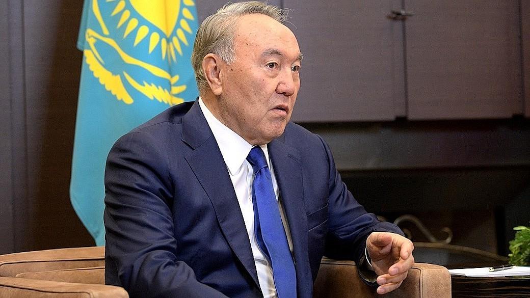 Kasachischer Präsident Nursultan Nasarbajew