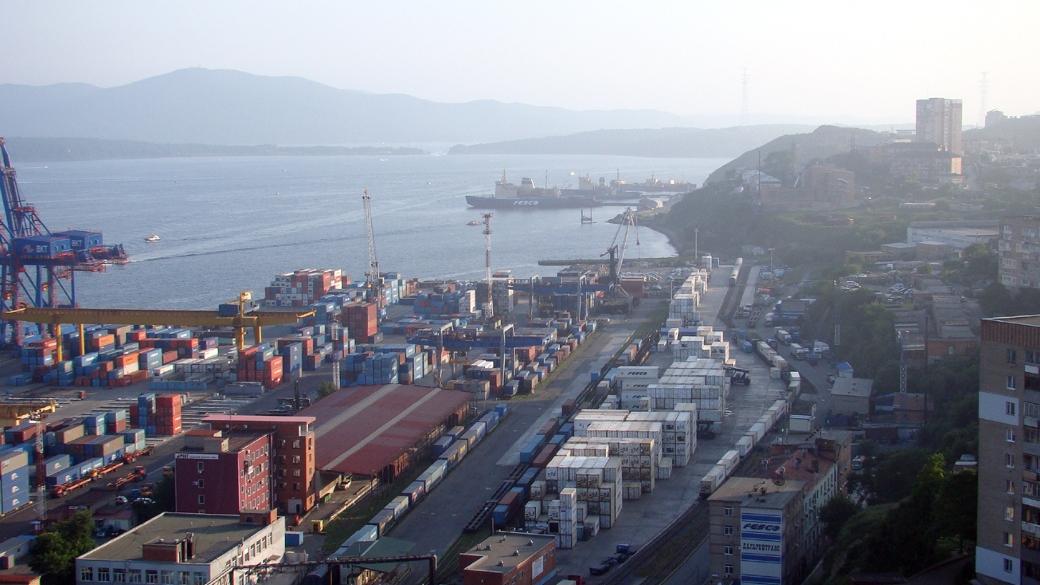 Vladivostok Hafen