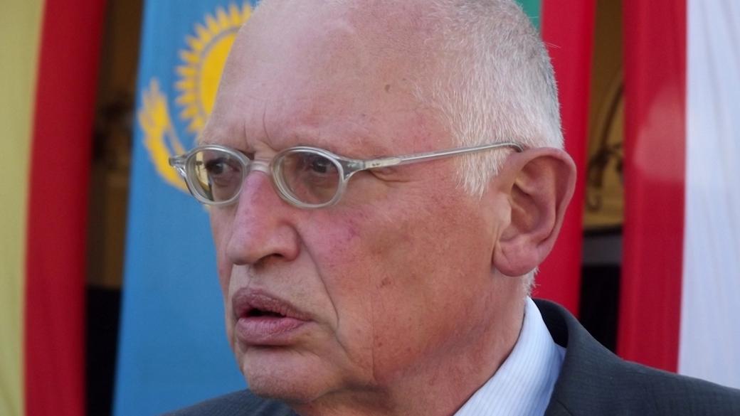 Ex-EU-Kommissar Günter Verheugen (SPD)