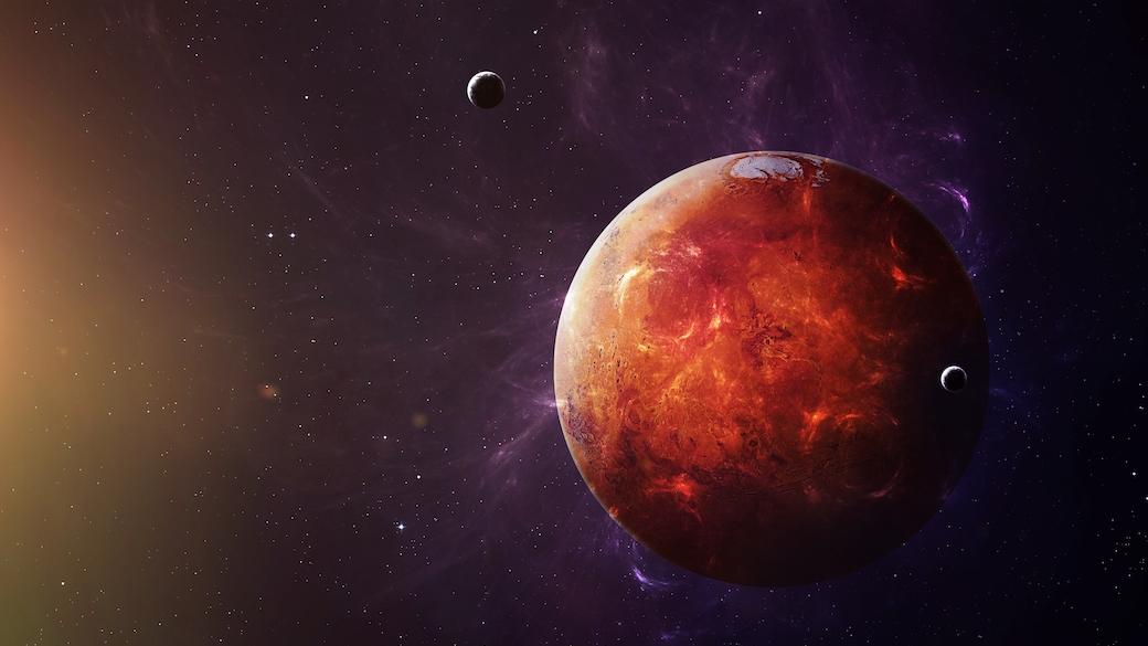 Der Mars.