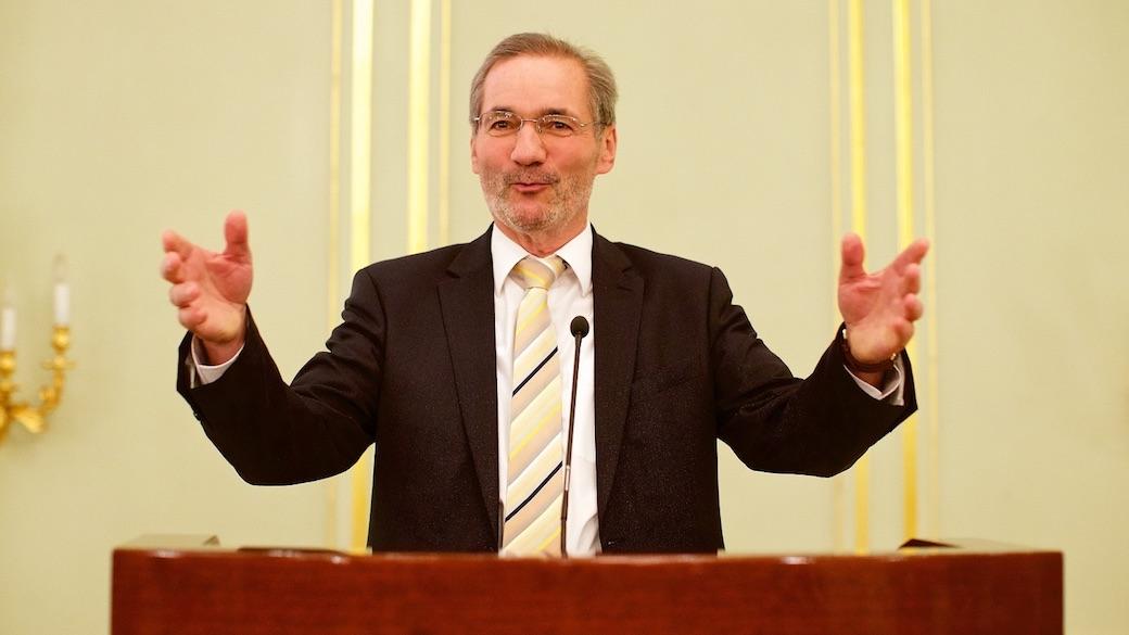 Matthias Platzeck beim Deutsch-Russischen Forum