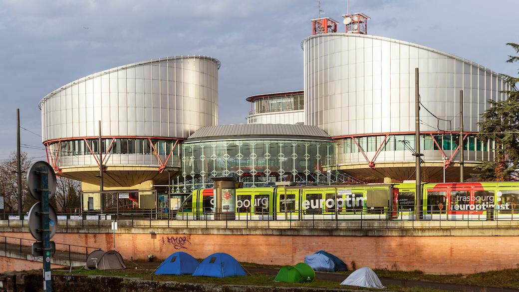 Menschengerichtshof in Straßburg