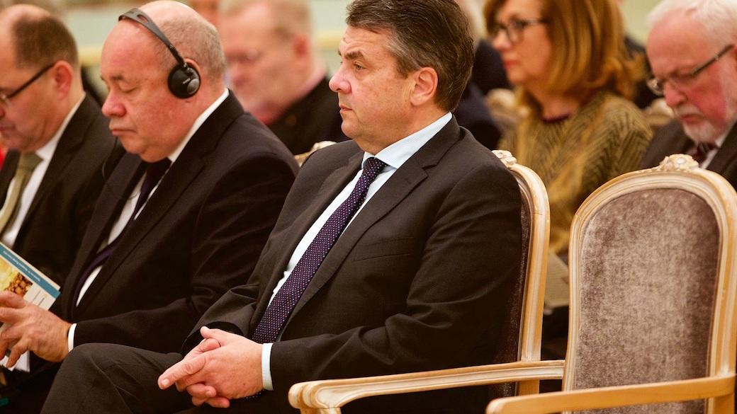 Sigmar Gabriel im Deutsch-Russischen Forum