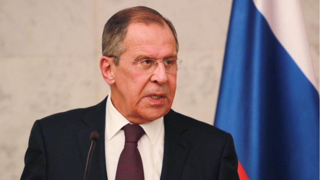Russischer Außenminister Sergej Lawrow