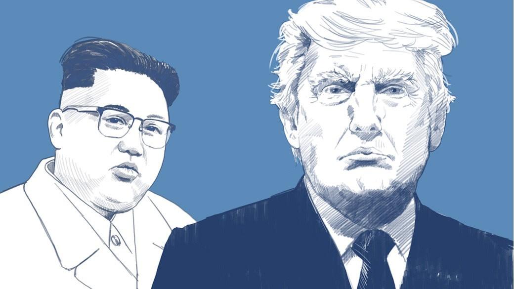 US-Präsident Donald Trump fordert Nordkorea und Südkorea dazu auf, einen Friedensvertrag zu schließen.