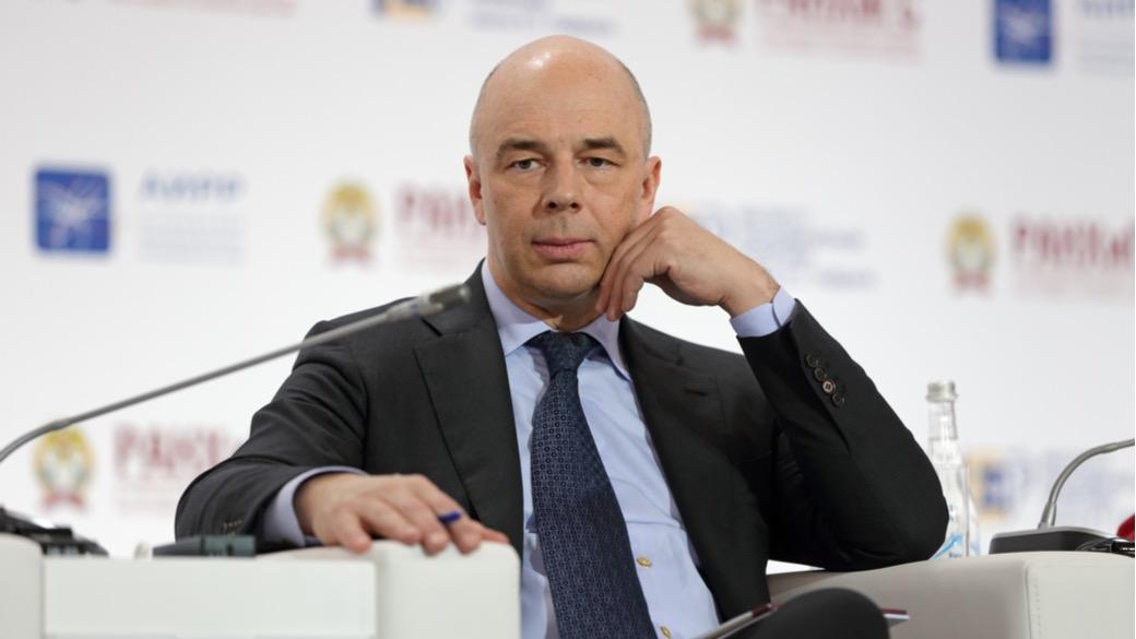 Russischer Finanzminister Anton Siluanow