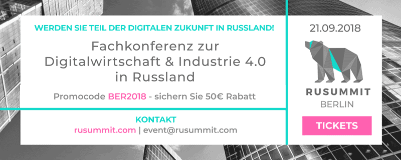 RUSummit - Fachkonferenz zum Digital Business in Russland