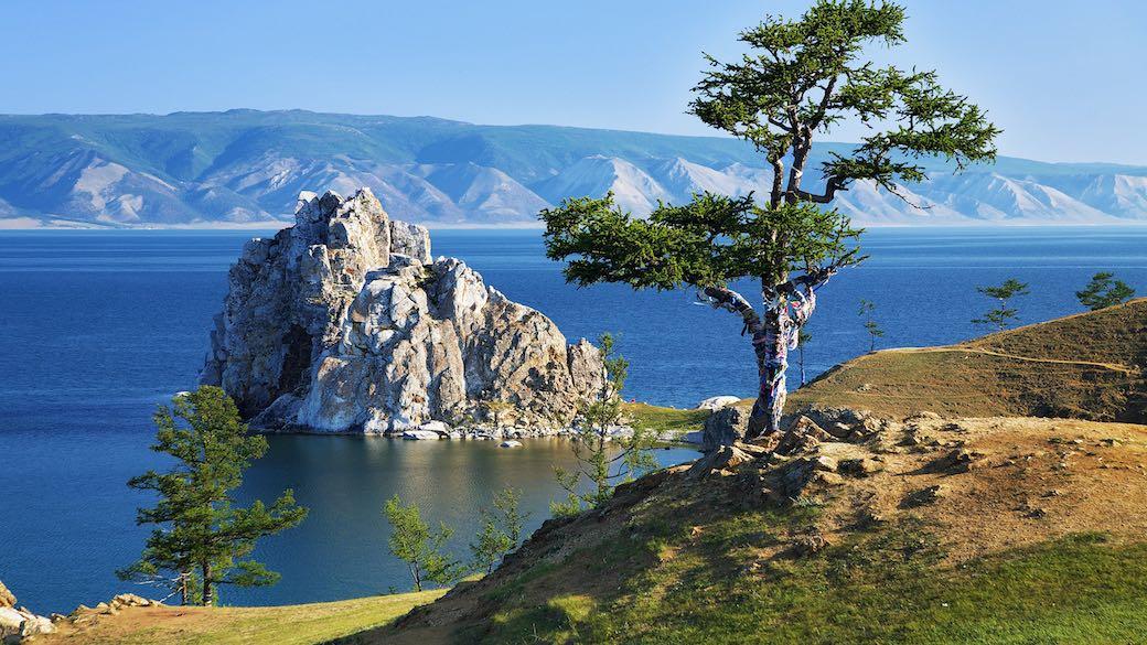 Olchon Inseln Baikalsee Russland