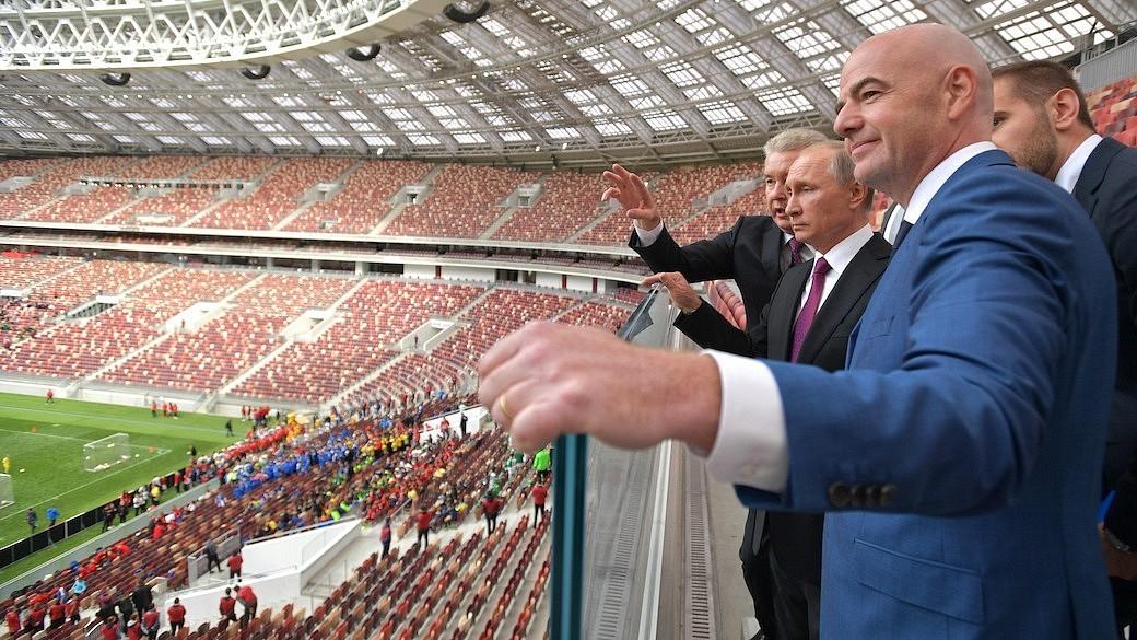 Luschniki-Stadion Moskau