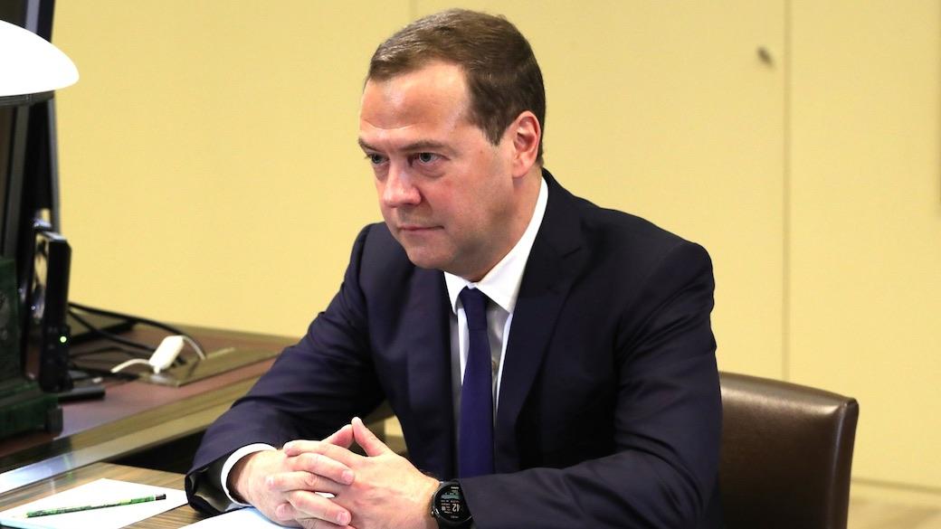 Russlands Premierminister Medwedew