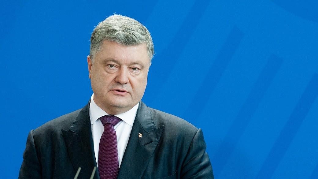 President Poroschneko aus Ukraine