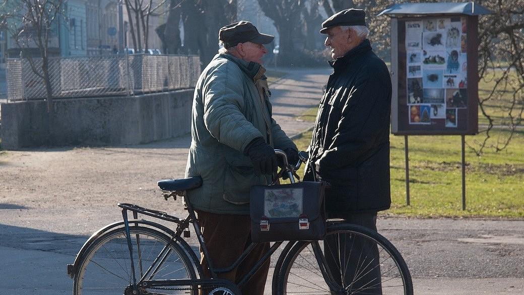 Rentner in Russland