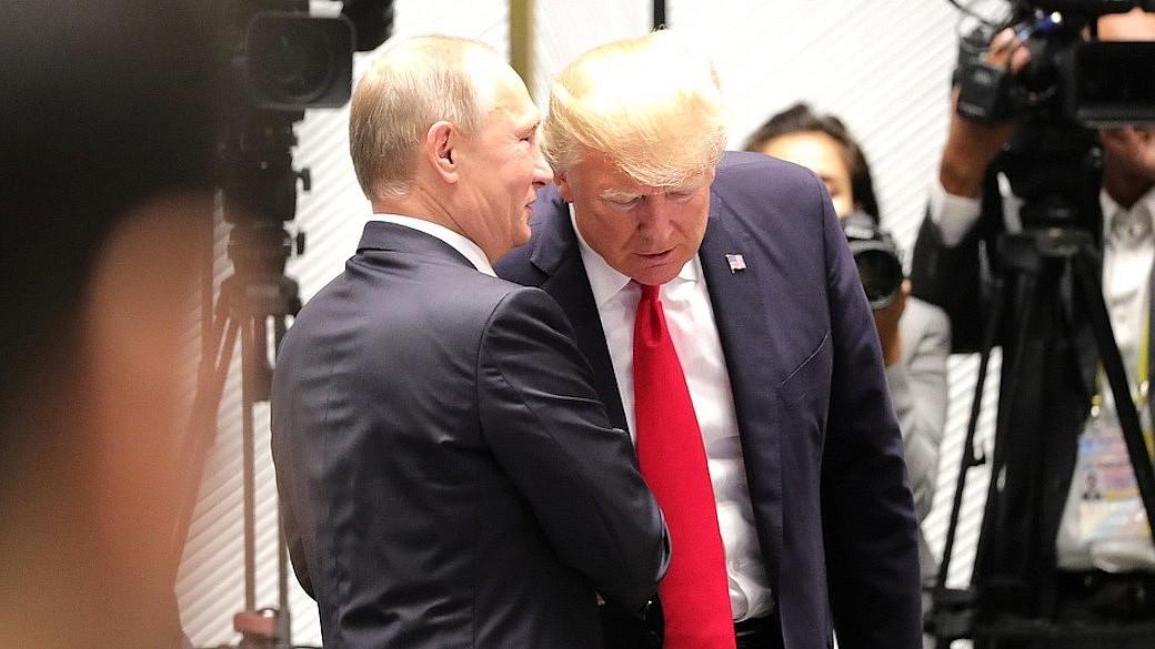 Wladimir Putin und Donald Trump treffen sich in Vietnam
