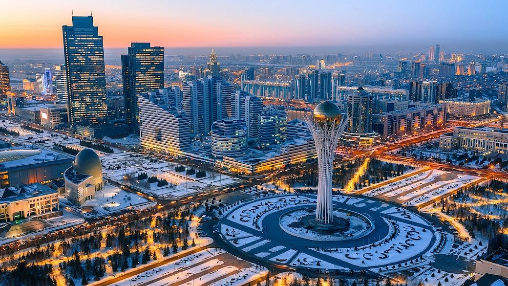 Astana - Hauptstand von Kasachstan