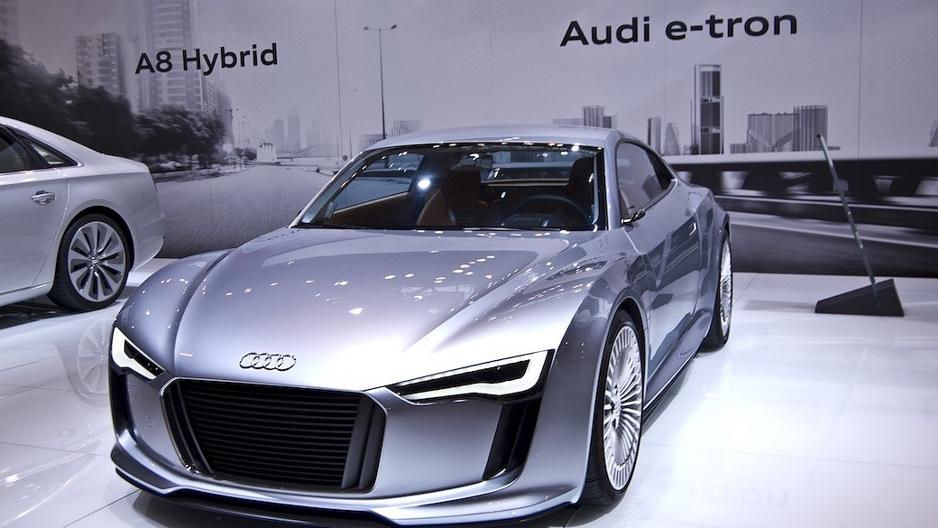 Audi E-Tron Elektrofahrzeug