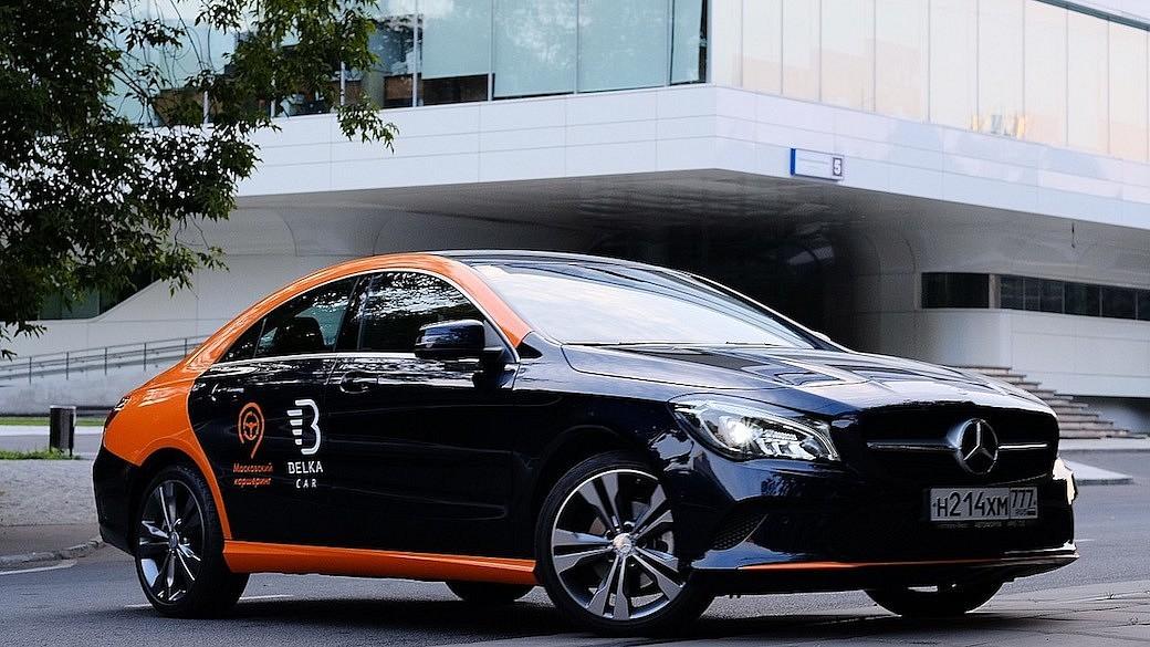 BelkaCar in Moskau