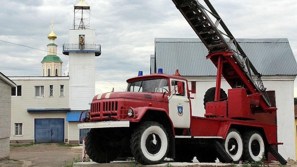 Feuerwehrwagen in Russland