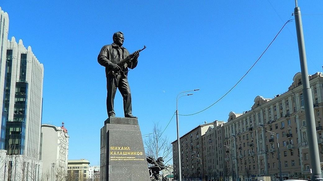 Kalaschnikow Statue Moskau