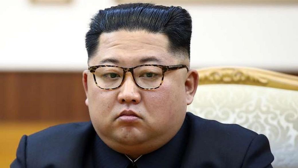 Nordkoreanischen Machthaber Kim Jong-un