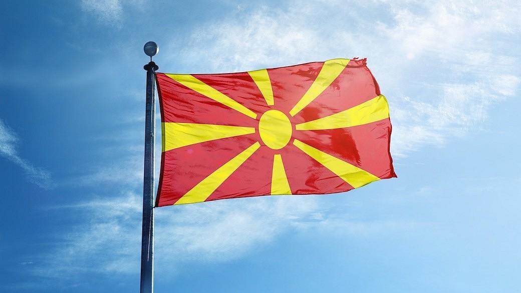Mazedonien Flagge