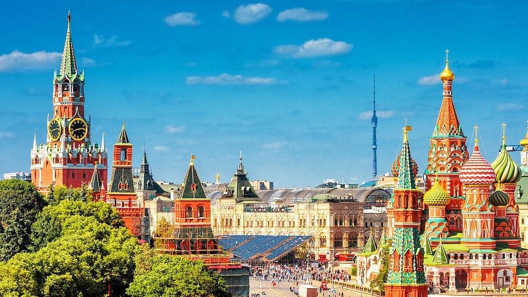 Moskau Kreml Roter Platz