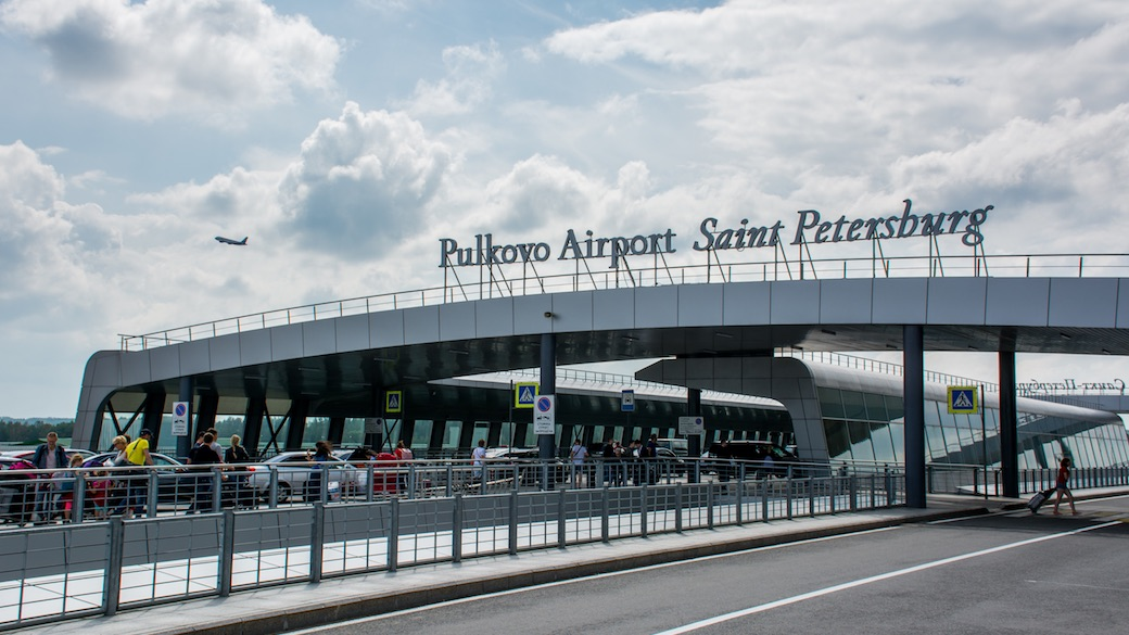 Pulkovo Flughafen St. Petersburg