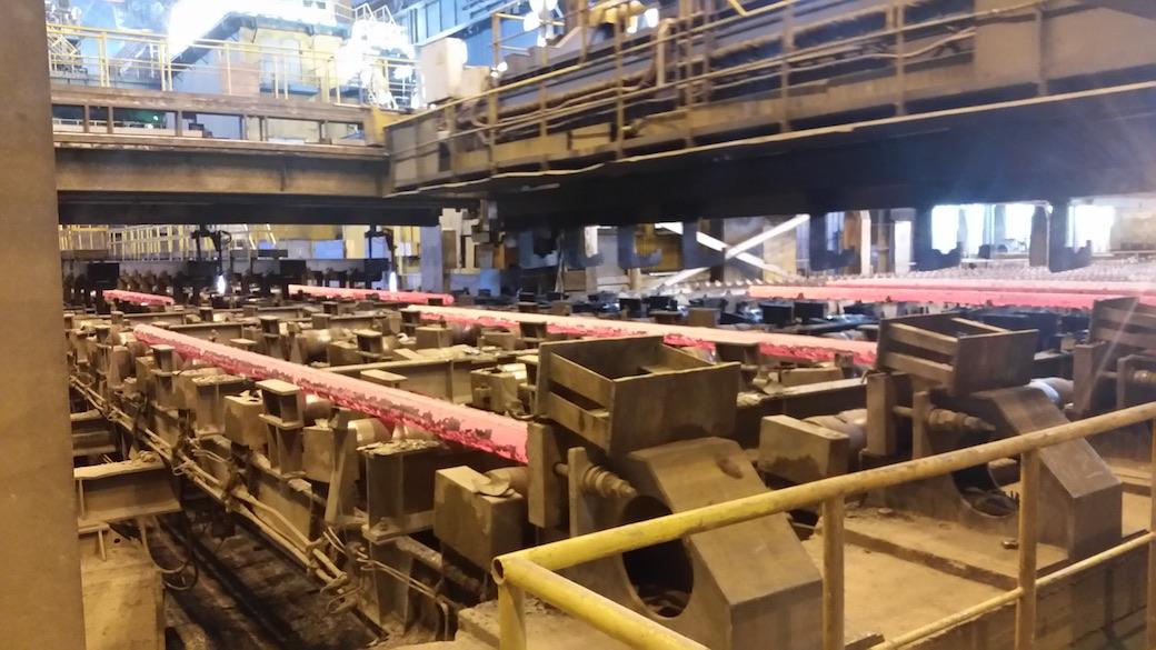 Roehrenproduktion bei TMK
