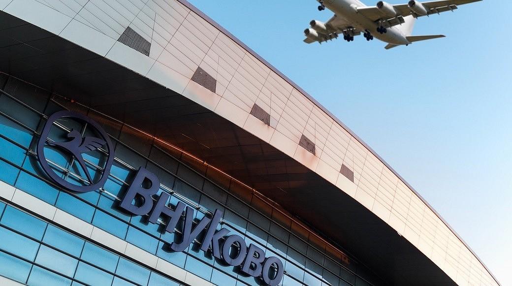 Flughafen Wnukowo in Moskau