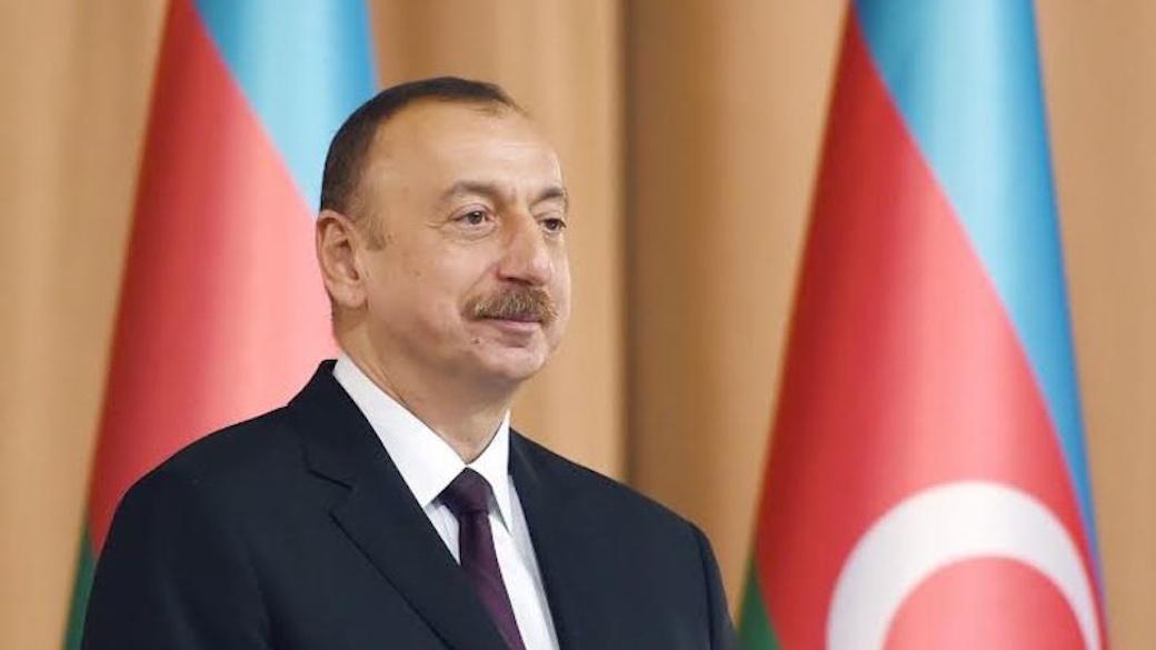 Präsident von Aserbaidschan Ilham Alijew