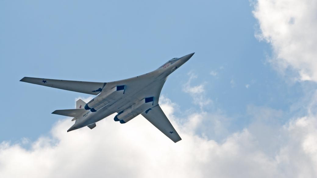 Russischer Jet Tupolev