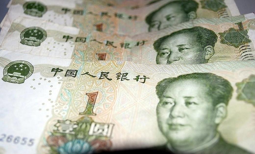 Chinesische Geldnoten