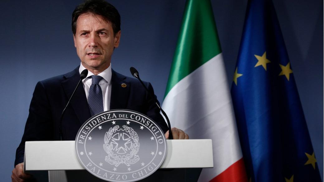 Italienischer Premierminister Giuseppe Conte.
