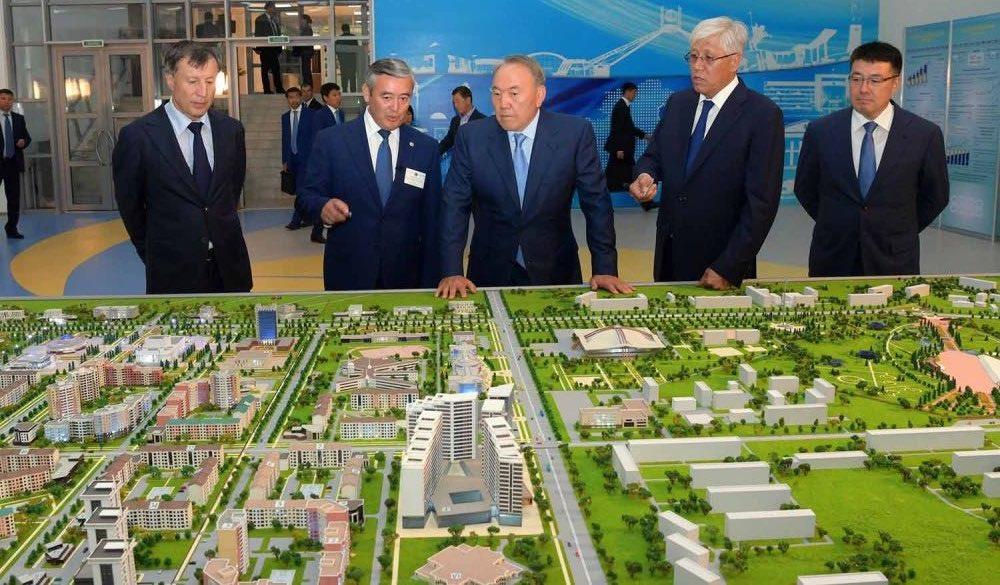 Nurkent, eine Planstadt in Kasachstan