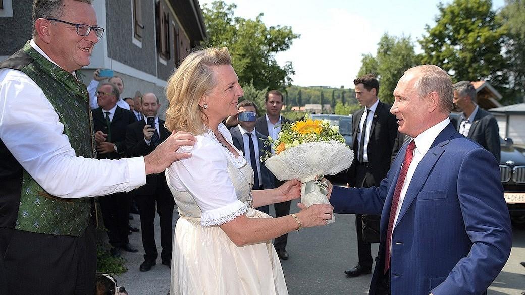 Karin Kneissl, Wladimir Putin
