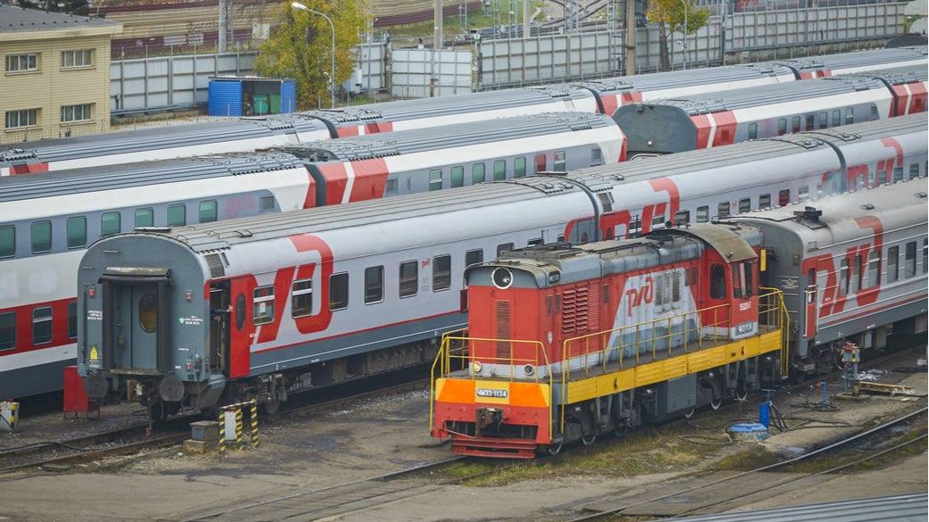 Russische Eisenbahn RZHD