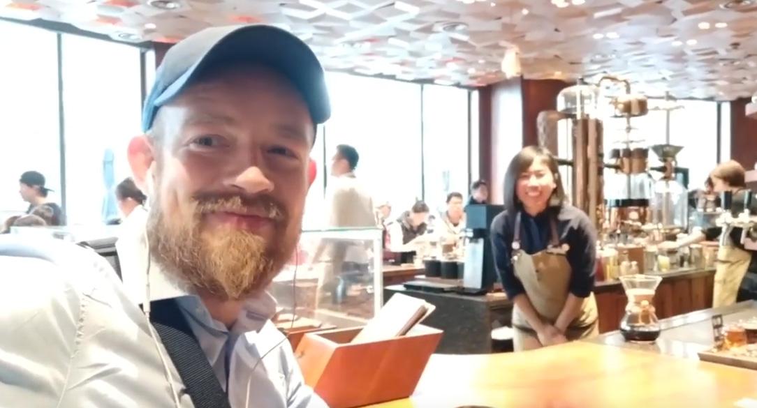 Beste Starbucksfiliale Shanghai