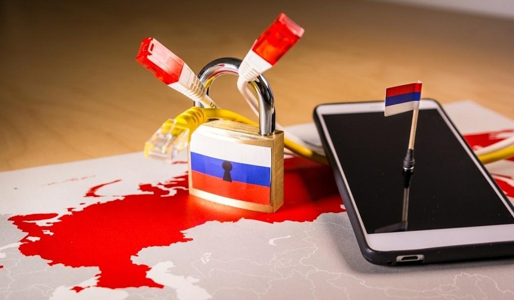 Russland Internet